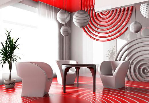 Как создать авангардный стиль дизайна интерьера своими руками