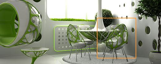 Как создать интерьер в стиле биодом своими руками
